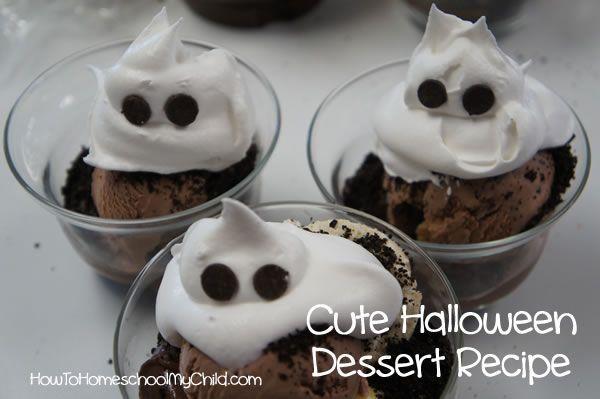 Cute Halloween Desserts \u2013 Recipes {Monday Meals} Holidays