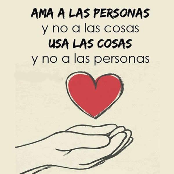 Frases Bonitas Con Mensajes Para El Corazon Y El Amor Ama A Las