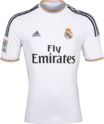 5982c7da3 Real Madrid 2013-14 home Soccer Jerseys
