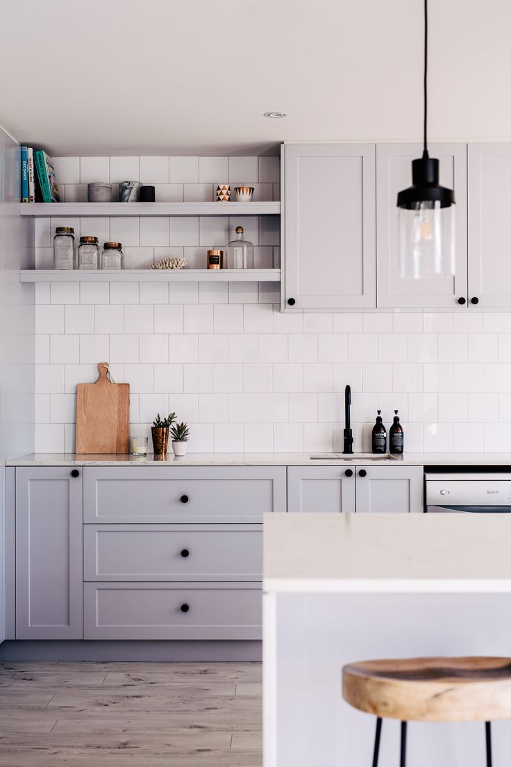 Projects | Gray kitchens, Nest and Third