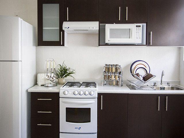 Cocinas infonavit google search decor pinterest - Decoraciones para cocinas ...