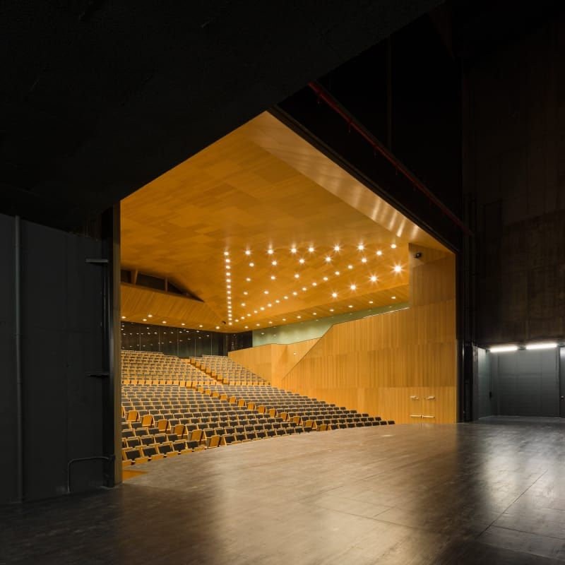 Paredes Pedrosa Arquitectos, Fernando Alda, Roland Halbe · Lugo Auditorium