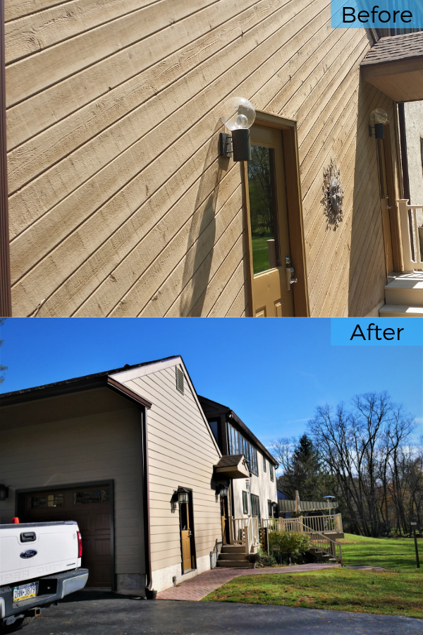 Replacing Cedar Siding With Hardie Cedarmill Planks In Media Pa Cedar Siding Installing Siding Siding