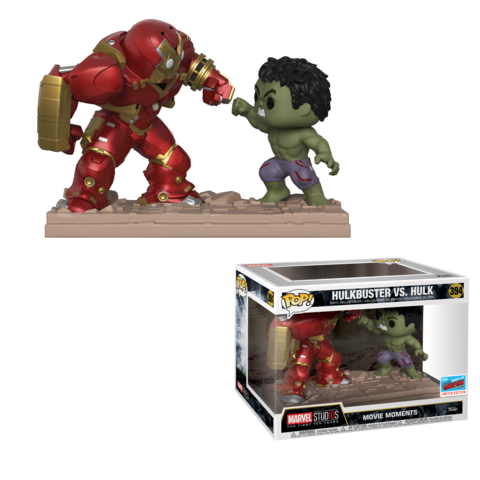 Hulkbuster Vs Hulk Movie Moment Funko Pop Vinyl Figure Walgreens