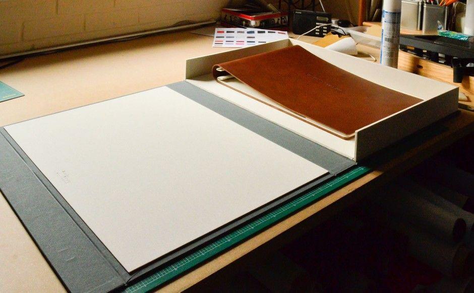 Half Clamshell Box Portfolio Book Portfolio Examples
