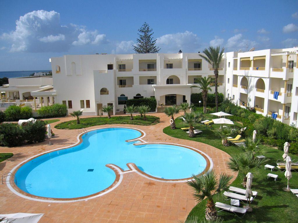 Relax Pool Und Haupthaus Tunesien Relax Strandbilder