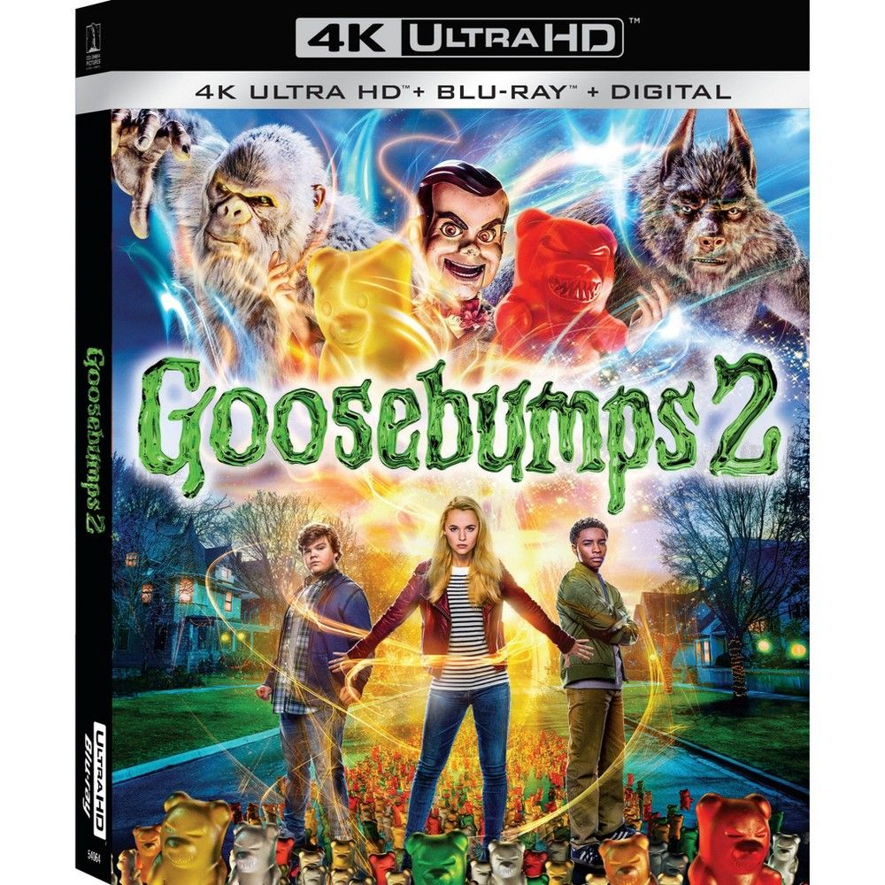 Halloween 2020 Dvd And Bluray In January Goosebumps 2 (4K/UHD) in 2020 | Goosebumps 2, Goosebumps