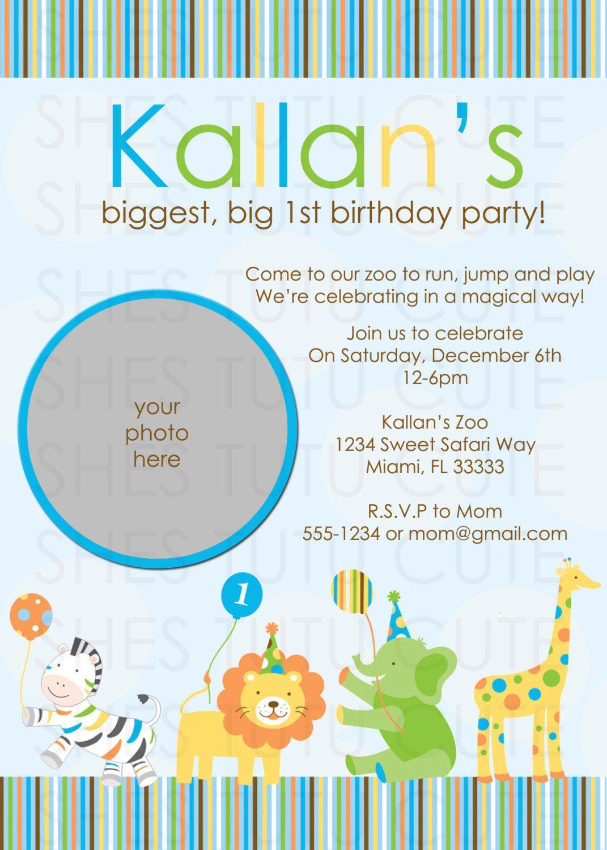 Gmail theme not working safari - Sweet Safari Blue Boy Birthday Invitation By Shestutucutebtq 11 00