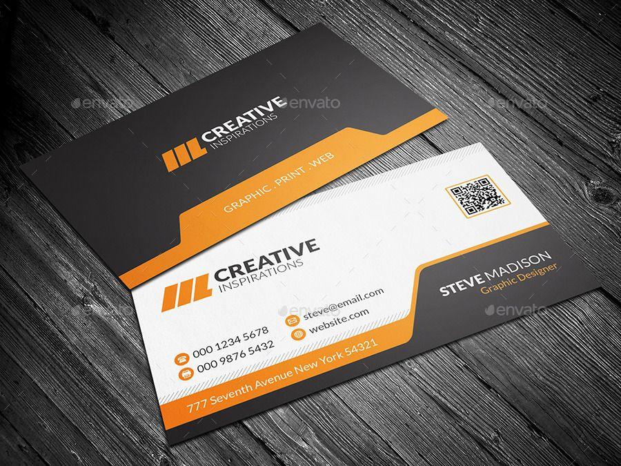 Modern Corporate Business Card Ad Corporate Affiliate Modern