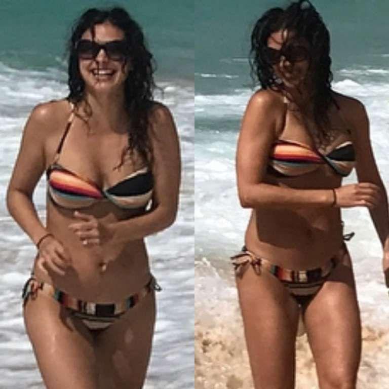 Morena Baccarin Bikini Sexy