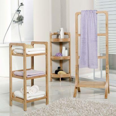 Meuble de salle de bain en bambou HOME CREATION(R) Au choix