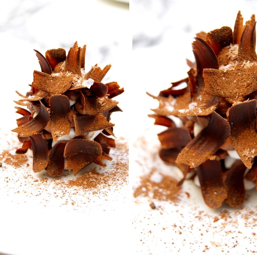 Merveilleux Chocolat/Cardamome Verte/Fleur de Sel by Yann Couvreur