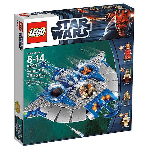 LEGO Star Wars Gungan Sub   Lego star wars, Lego star and Lego