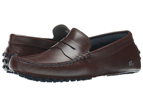 10f0f27913cb Lacoste Concours 19 Dark Brown - Zappos.com Free Shipping BOTH Ways ...