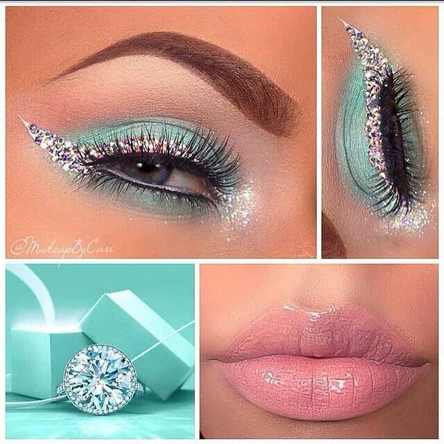 This Isn T Me Or My Work I Liked It I Thought I D Share It It S Tiffany Inspired I Believe Eye Makeup Gorgeous Makeup Makeup Inspiration