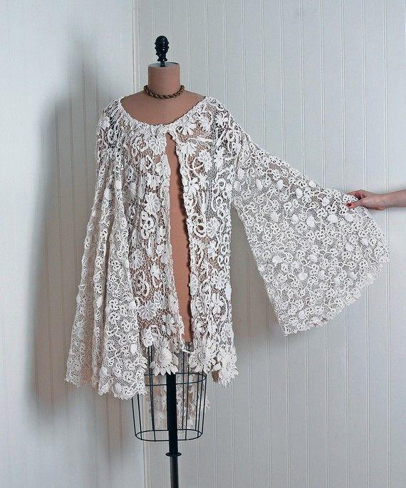 1910\'s Irish-Crochet Coat | Vintage & Victorian Clothing/Shoes ...