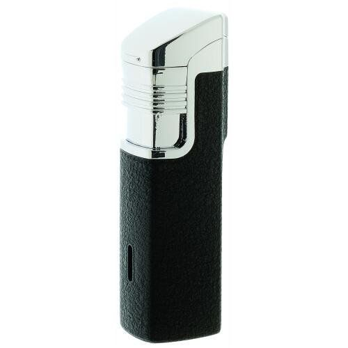 Vector Spartan Double Lighter Black Crackle Matte by Vector. $22.99. From Vector, the Spartan double torch lighter. Double Jet Flame Adjustable Fuel Window Double Action Wind Resistant Refill with Vector 5 X Filtered butane Vector lighters are known for their Vector lighters are known for their outstanding design and performance Color: Black Crackle Matte