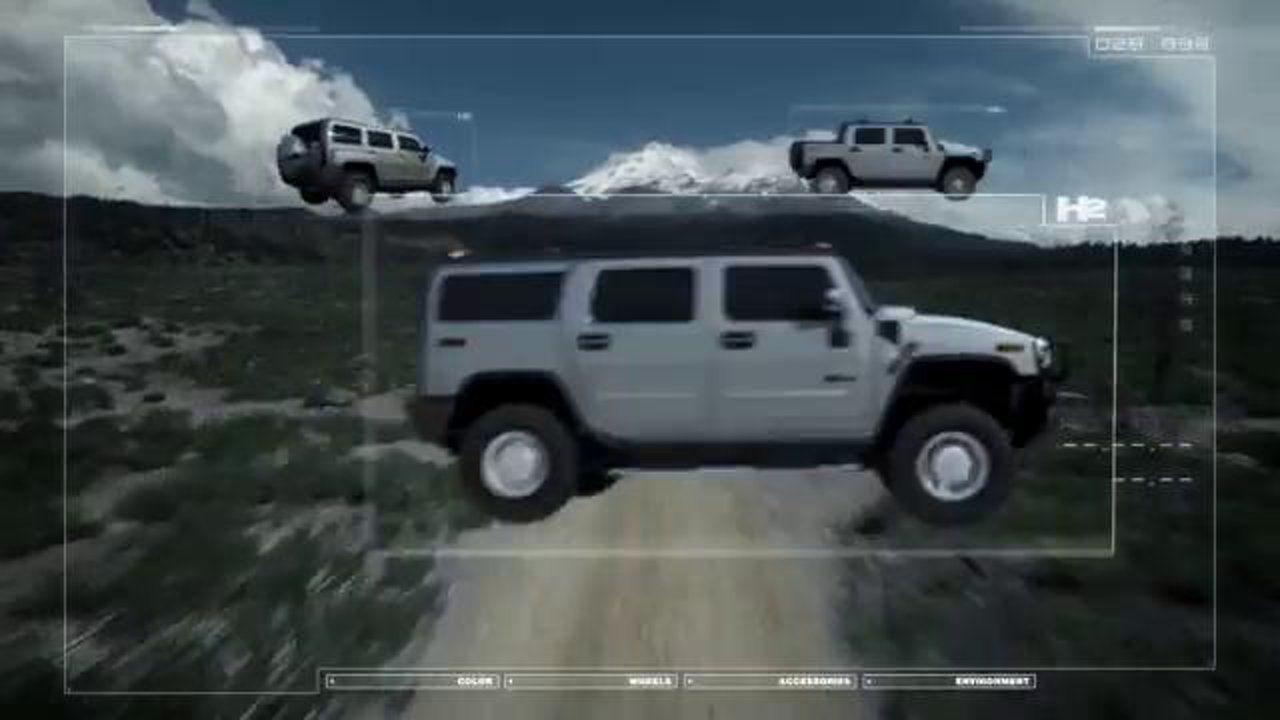 Gmunk Hud Design Hummer Tv Commercials Hummer Disney S