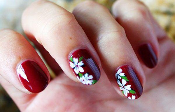 Diseños de uñas con esmalte | Diseños de uñas, Disenos de ...