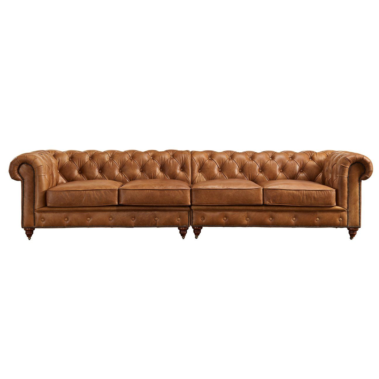 Century Chesterfield Sofa Light Brown Leather 118 Chesterfield Sofa Deep Chesterfield Sofa Leather Chesterfield Sofa