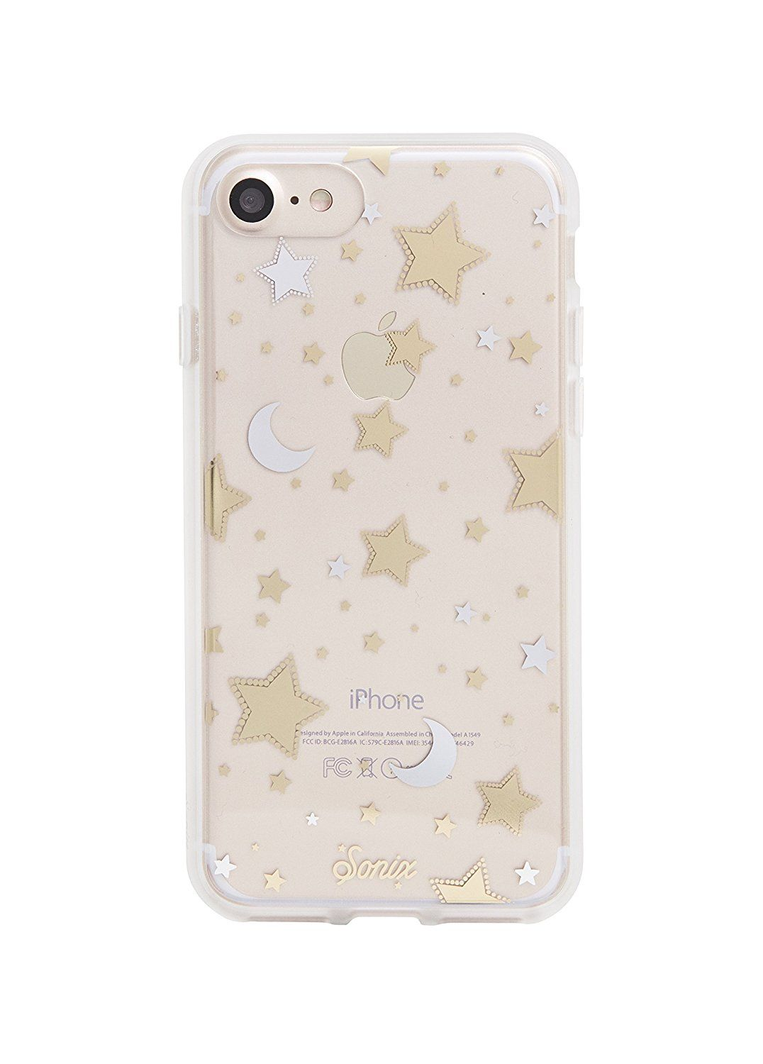 42f0f5bd74 iPhone 8 / iPhone 7, Sonix MILKY WAY Clear Coat Cell Phone Case (stars,  silver, gold) - Drop Test Certified - Retail Packaging - Sonix Clear Case  Series for ...