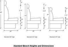 Heights Dimensions Banquette Seating Restaurant Seating Booth Seating