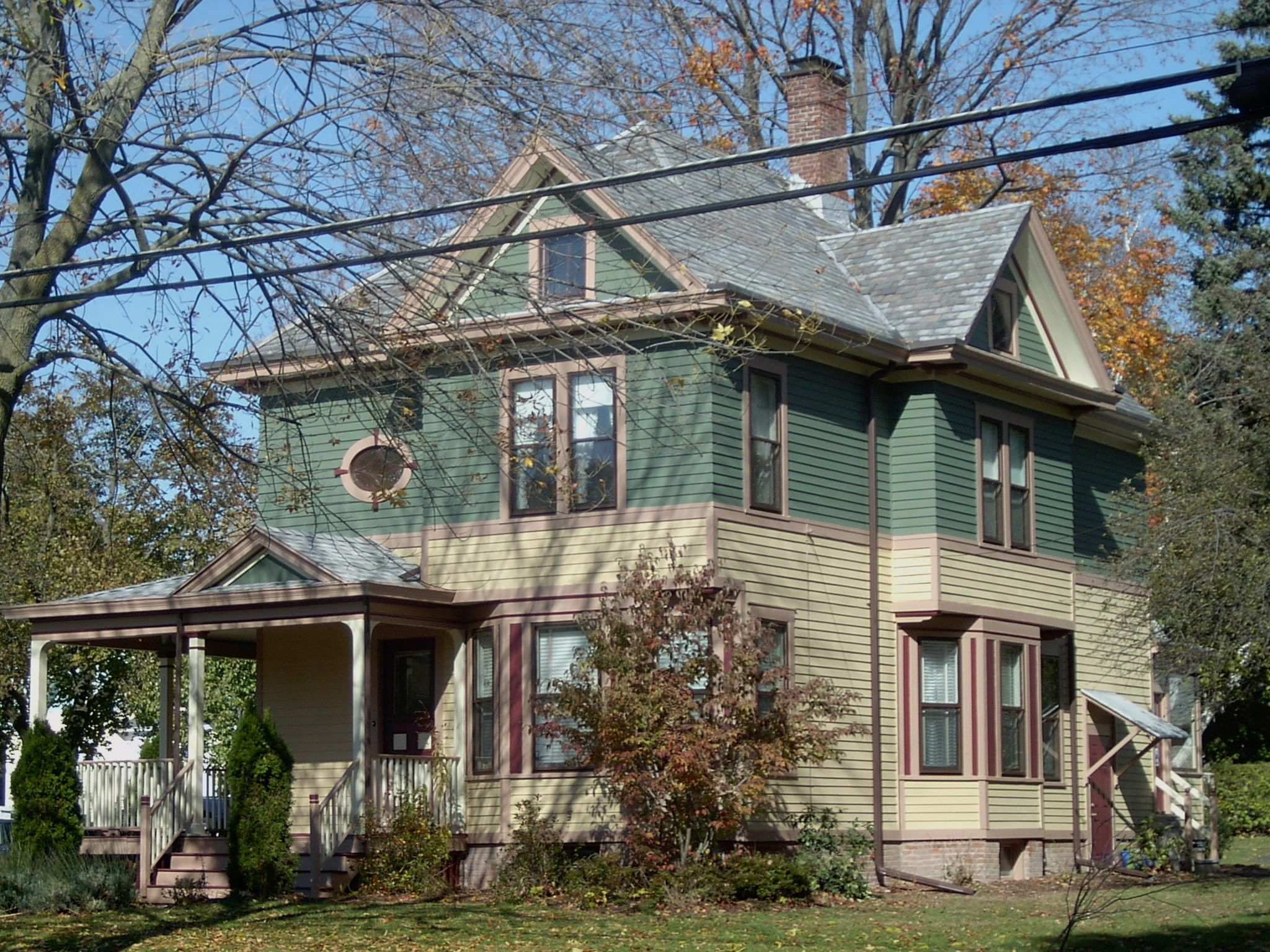 New colors for late victorian style house custom schemes for New victorian style homes