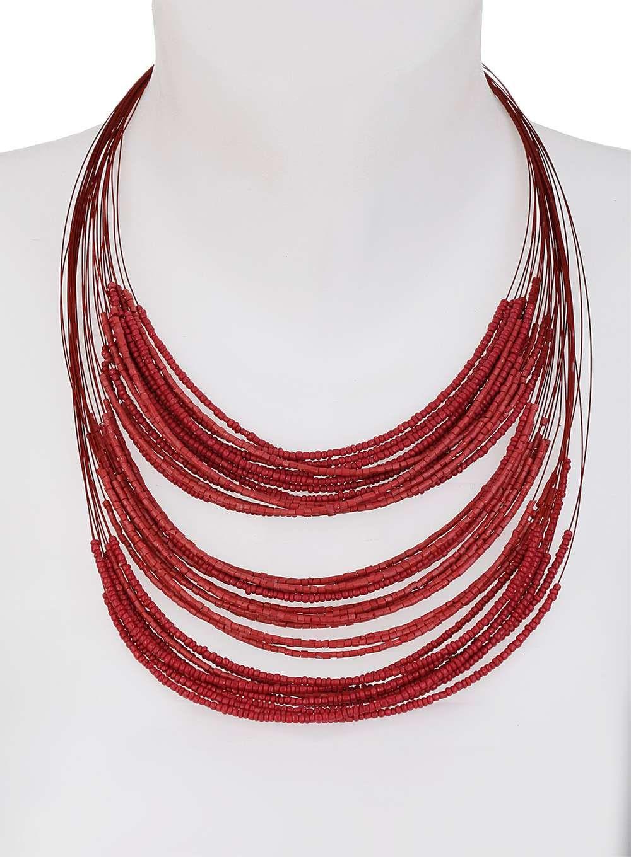 Beaded Multirow Necklace - Dorothy Perkins