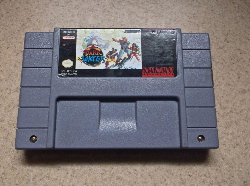 Pirates Of Dark Water Super Nintendo Snes Game Rare Super Nintendo Games Game Boy Advance Sp