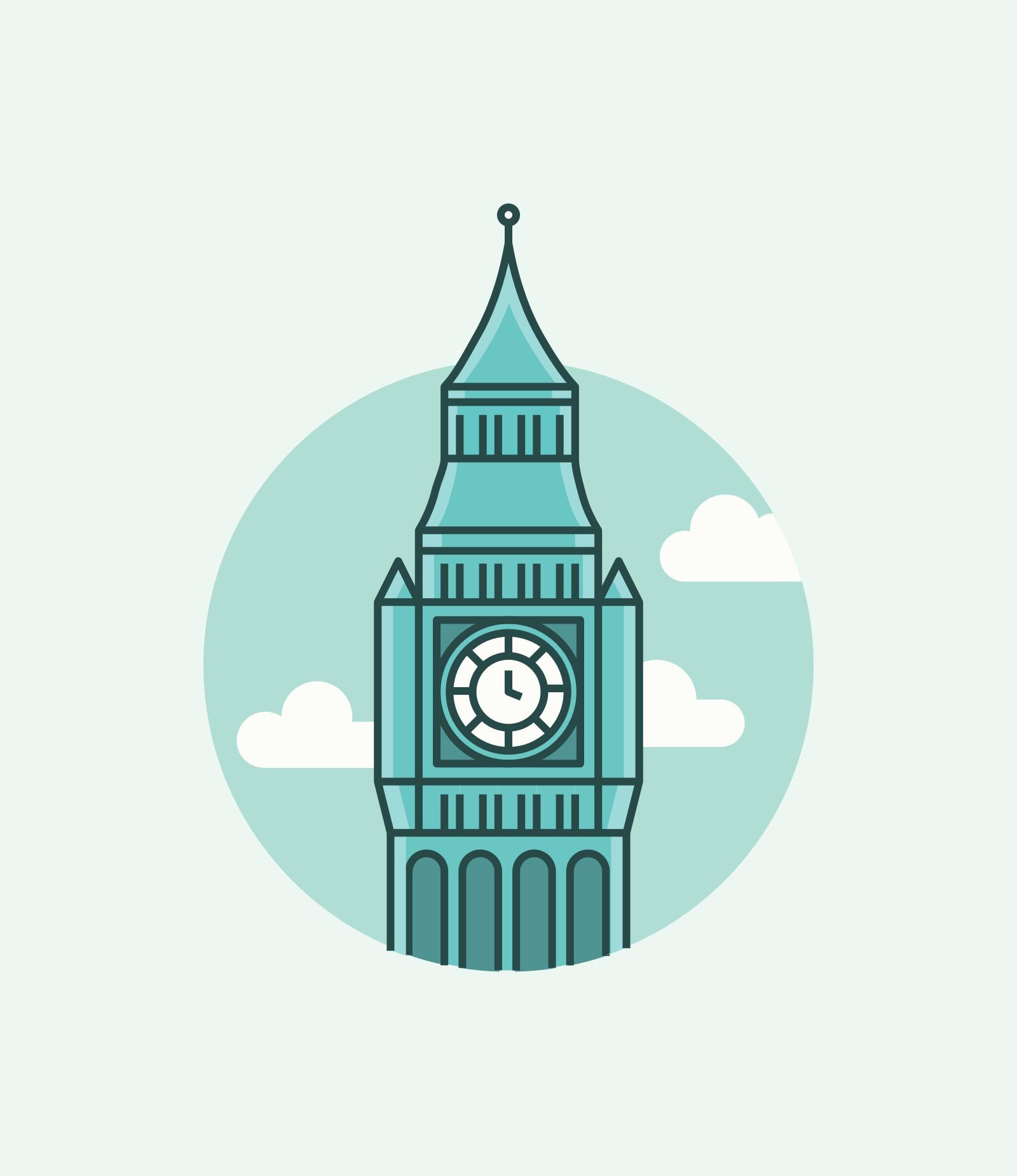 London City Illustration Uk Travel Free Download Iconos De Instagram Cosas Para Dibujar Dibujos Faciles