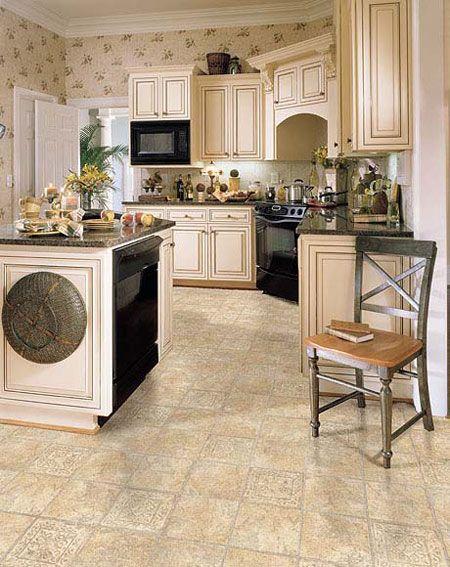 Kitchens Flooring Idea Marengo By Domco Vinyl Flooring Vinyls - Domco vinyl flooring