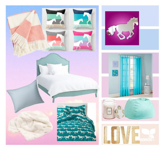 """Dream room"" by katiemax34 on Polyvore featuring interior, interiors, interior design, home, home decor, interior decorating, Anorak, Mi-Zone, PBteen and Voluspa"