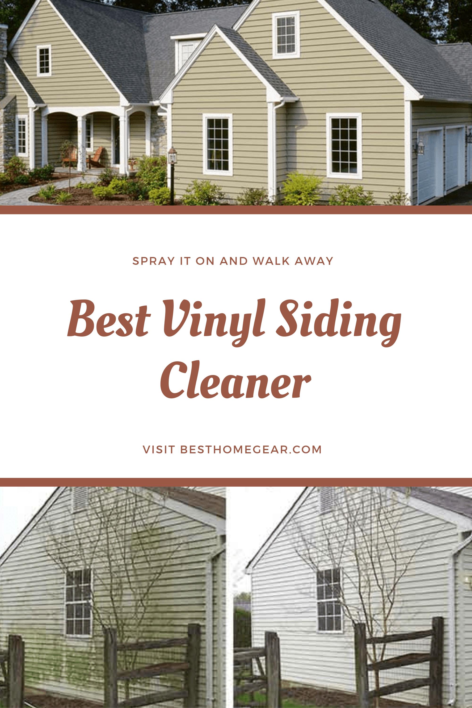 The 7 Best Vinyl Siding Cleaner For 2020 Best Home Gear Best Vinyl Siding Cleaning Vinyl Siding Vinyl Siding
