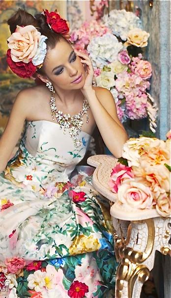 Ein Brautkleid muss nicht immer weiß sein - Inspiration von Stella de Libero