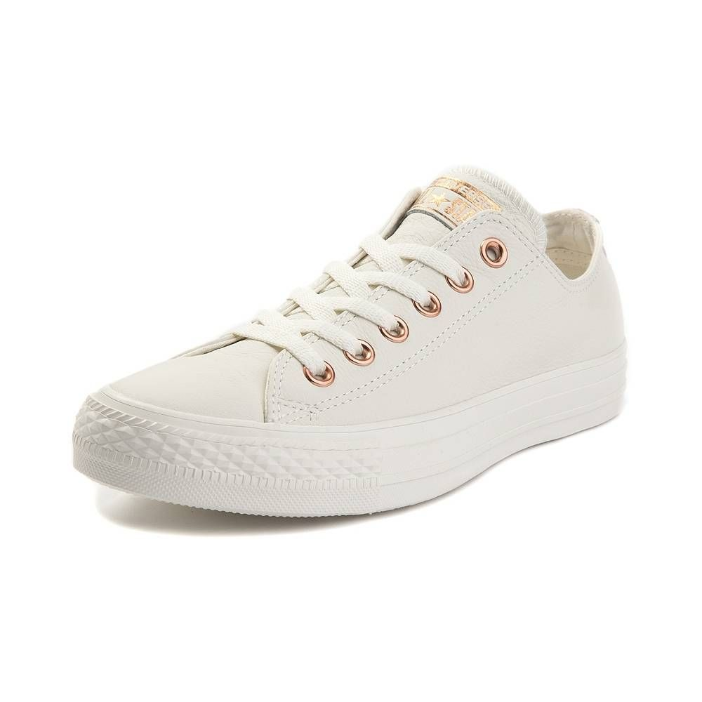7f8393262fd5 Converse Chuck Taylor All Star Lo Lux Leather Sneaker - Nude - 399524