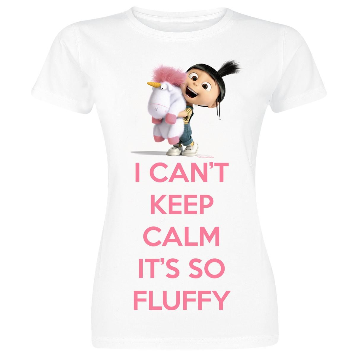 Minions  T-Shirt  »I Can't Keep Calm It's So Fluffy« | Buy now at EMP | More Fan merch  T-shirts  available online ✓ Unbeatable prices!