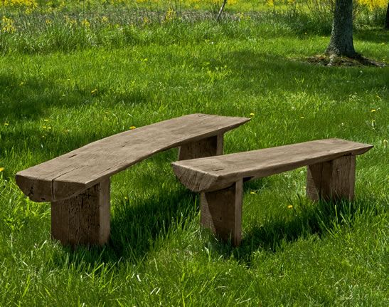 Fresh Stone Outdoor Benches