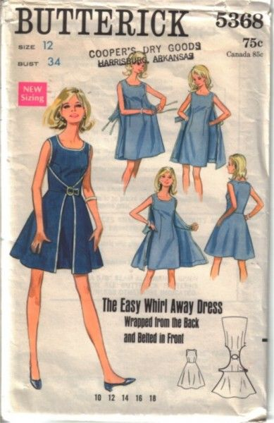I think this is even cuter than the '50s walkaway version! Methinks some drafting may be my near future.