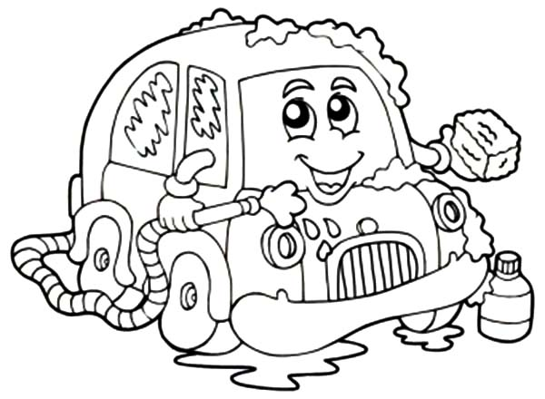 Car Wash With Soap Coloring Pages Best Place To Color Coloring Pages Coloring Pictures Coloring Pages For Kids