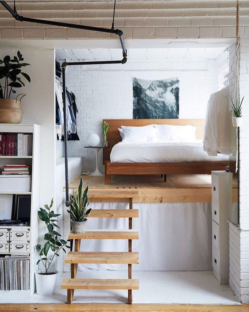 Small loft bed ideas  Pin by vuc vuc on 坪  Pinterest  Interiors Tiny houses