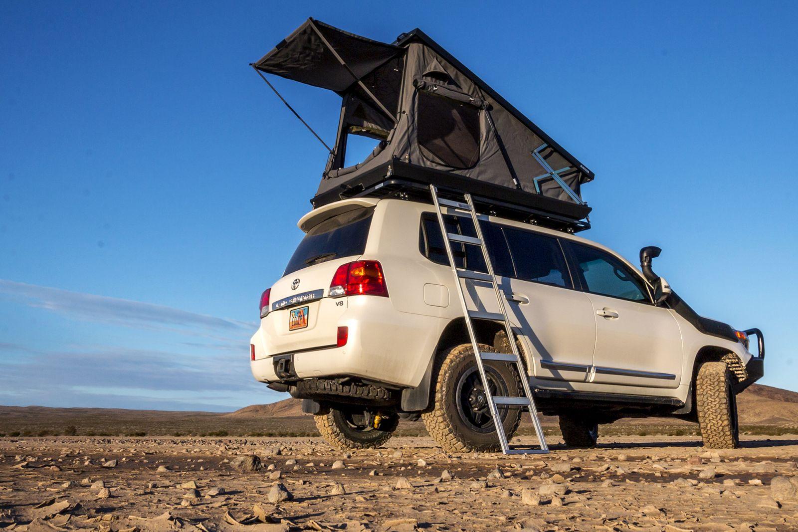 Canvas, meet Aluminum Roof top tent, Top tents, Tent