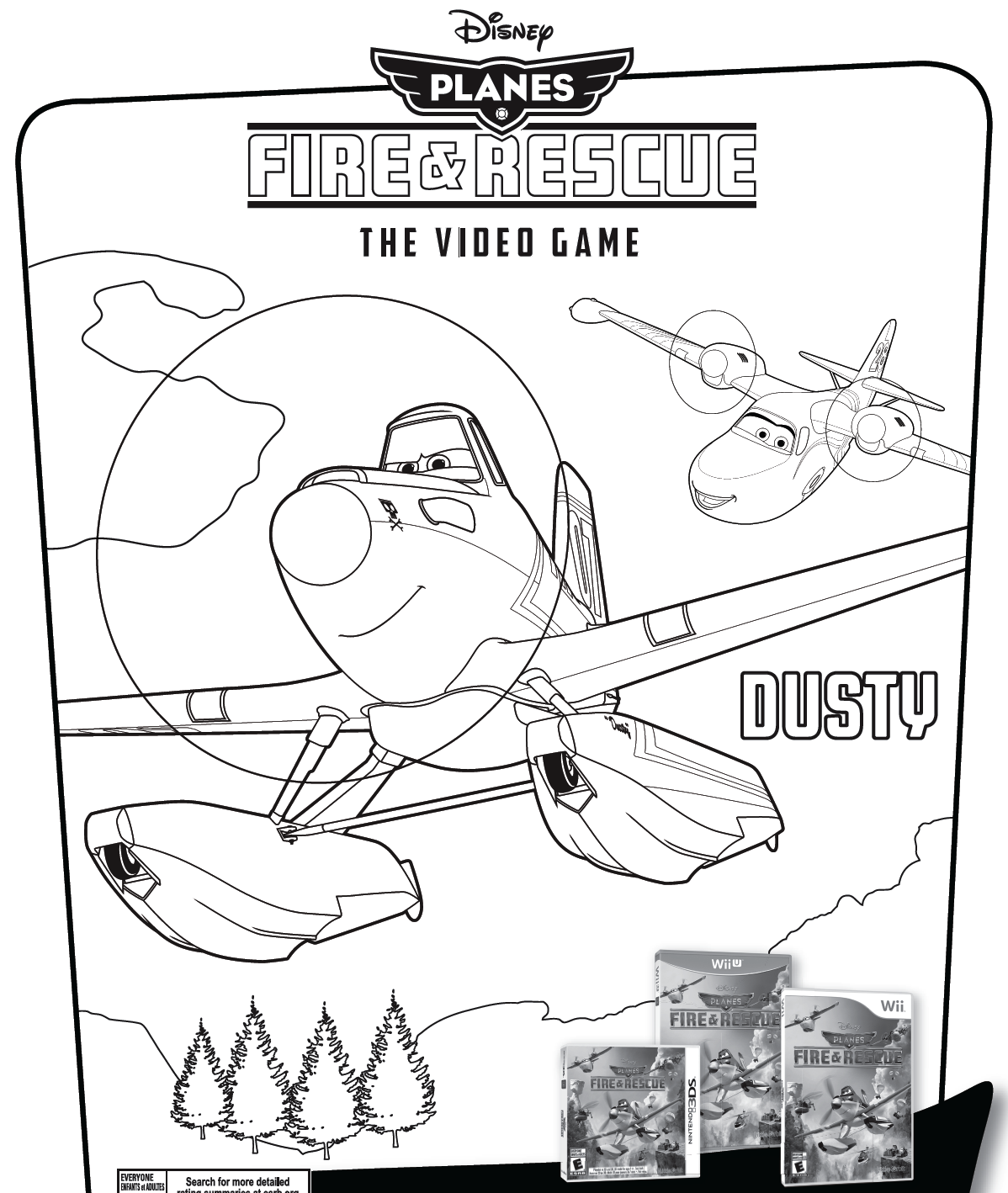 Disney Com The Official Home For All Things Disney Coloring Pages New Video Games Disney Planes