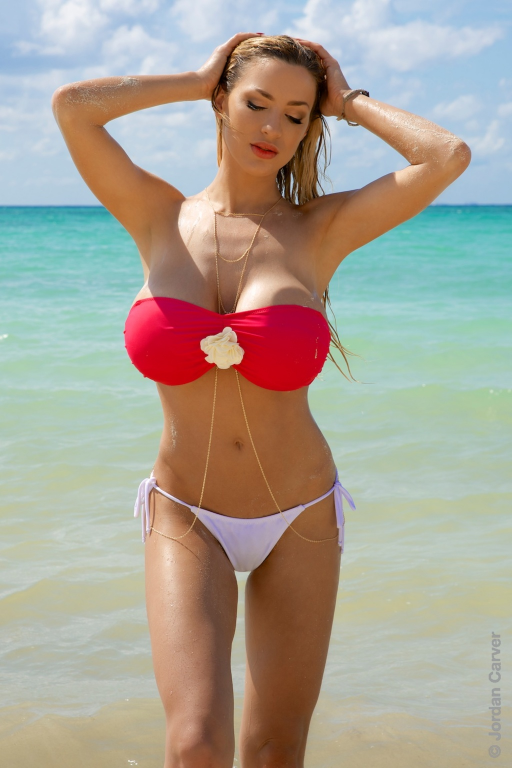tits bikini Big beach