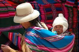 cholita y bebe