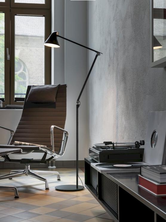 Njp Floor Norden Living Floor Lamp Louis Poulsen Led Floor Lamp