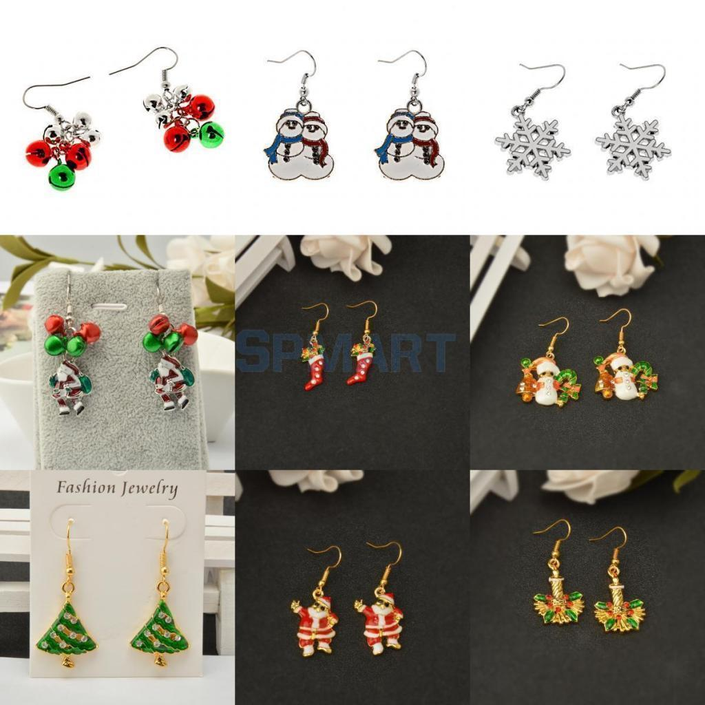 6e2ac9d4e 2.94AUD - Novelty Flashing Christmas Party Festive Dangle Drop Hook Earrings  Jewelry Gift #ebay #Fashion