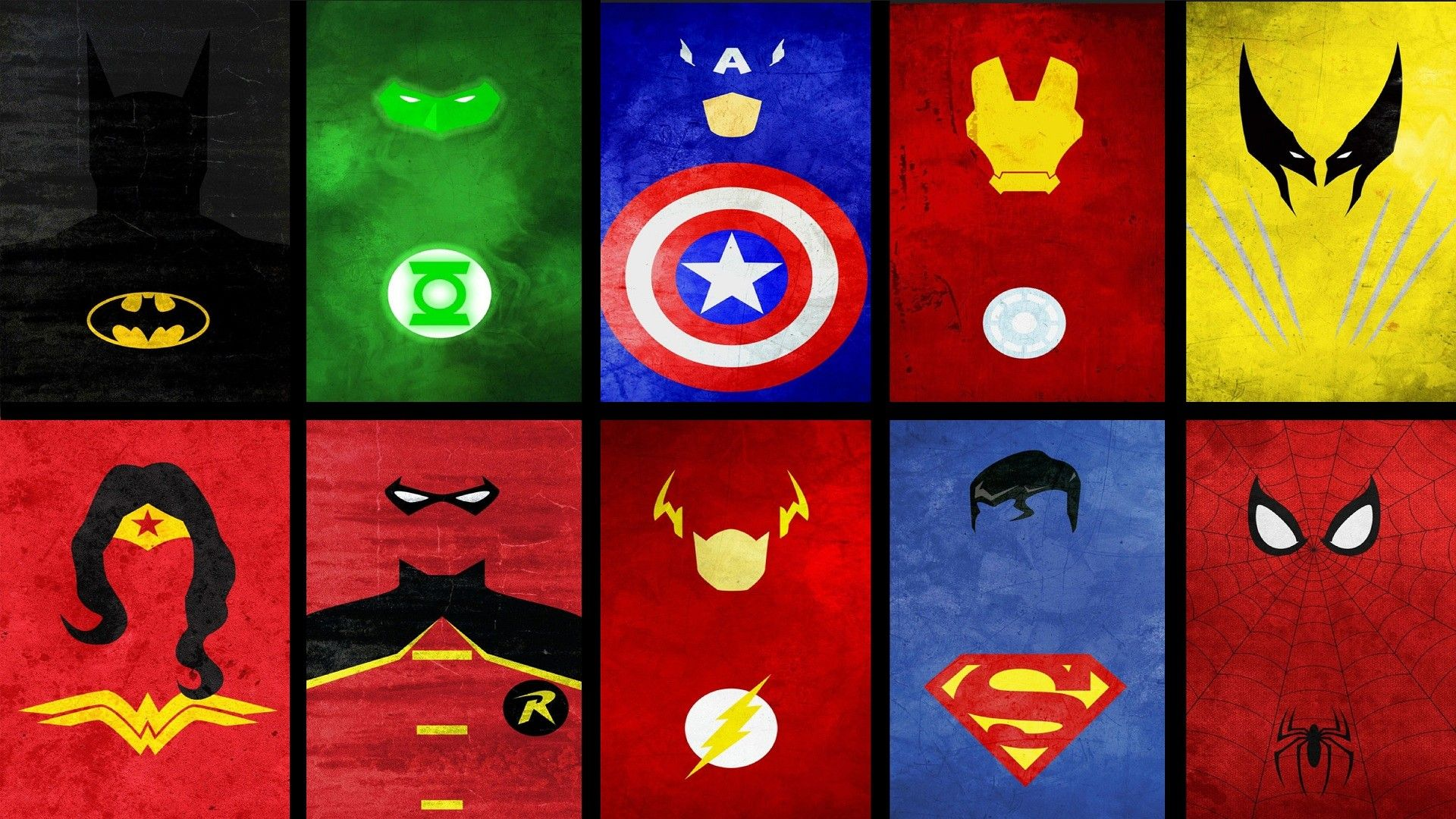 Marvel Superheroes Symbols Clipart Library