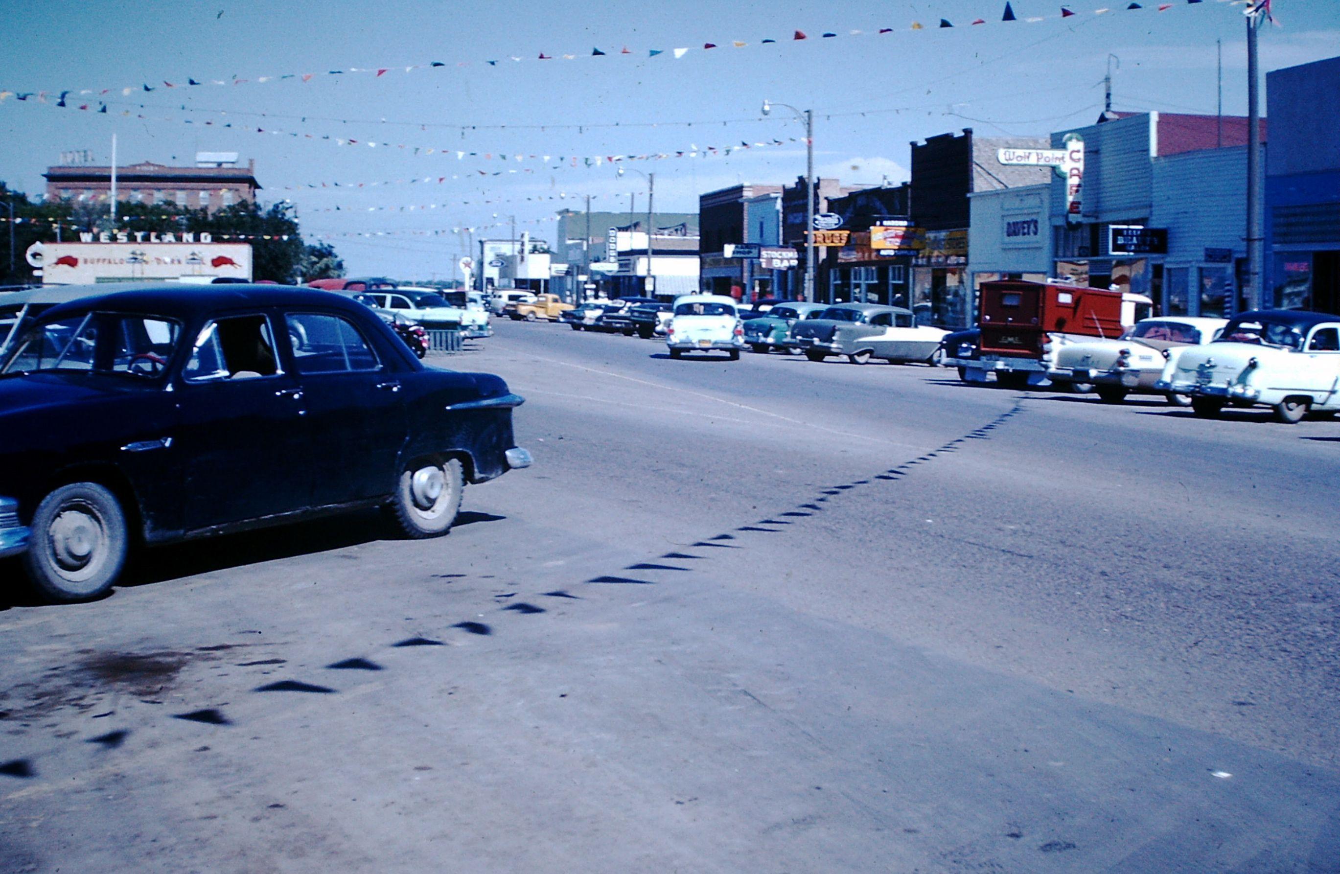 Wolf Point, MT, 1960s.