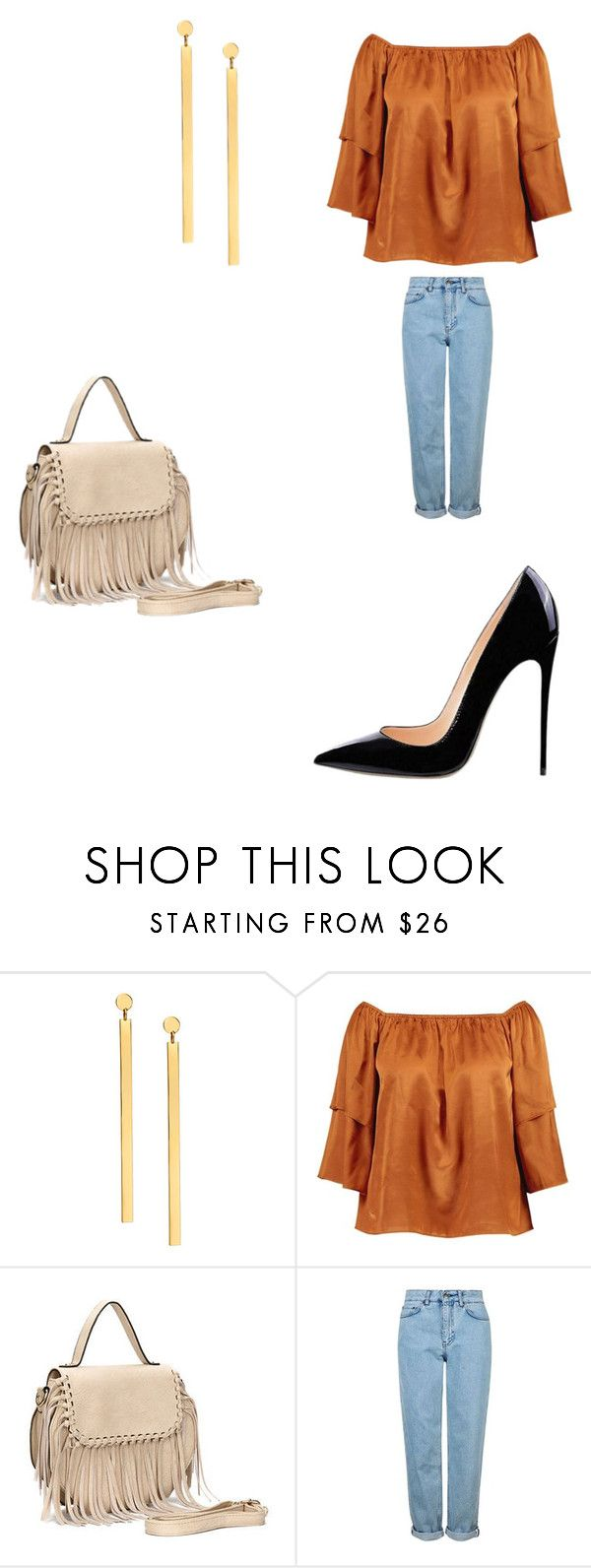 """""""Untitled #2941"""" by angfra ❤ liked on Polyvore featuring Lana, Boohoo and Topshop"""
