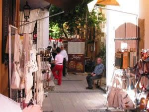 Cyprus - Laiki Geitonia Street, Nicosia old town